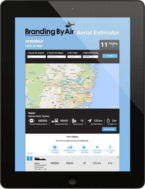 Branding By Air iPad
