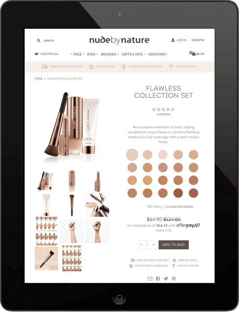 Nude by Nature Tablet